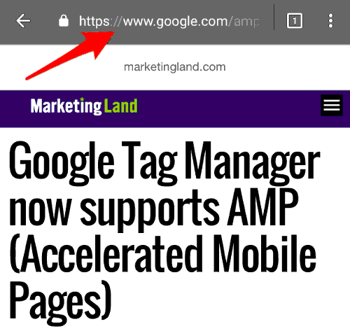 Plugin speed tricks wordpress mobile first speed three examples of google amp hijacking urls and valuable screen space fandeluxe Gallery
